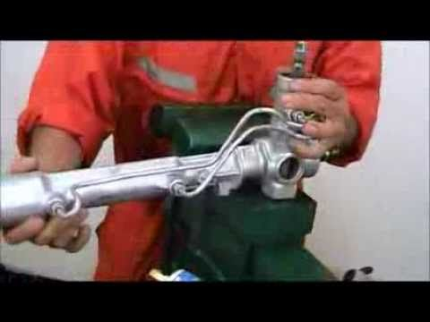 Tutorial: como armar una cremallera de dirección asistida hidráulicamente Ford Taurus.