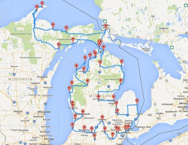 There are a ton of spots across the great state of Michigan where people visit during the warm months. A local Ph.D candidate at Michigan State University has come up with what he thinks it he optimal Michigan road trip, hitting the best spots across the state.