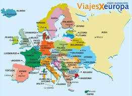 9 mejores imgenes de mapas en Pinterest  De europa Mapa fisico