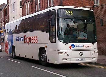 National Express - Hastings Sussex Coach Travel