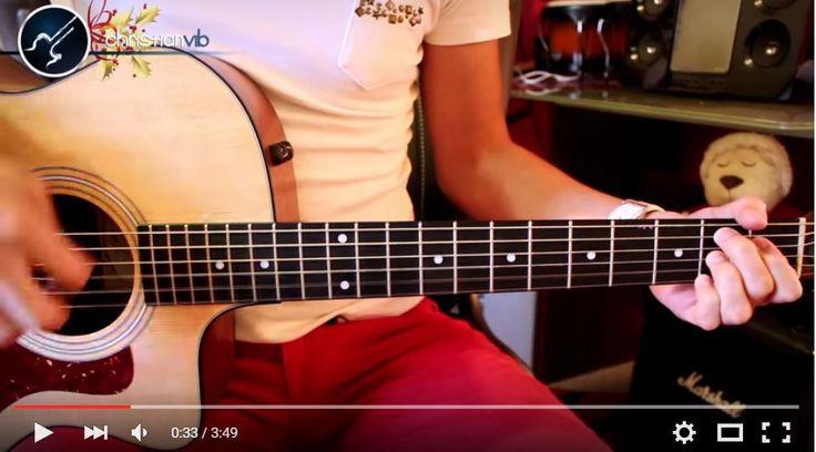"""Cómo Tocar El Villancico """"Campana Sobre Campana"""" en Guitarra Acústica                                                                                                                                                                                 Más"""