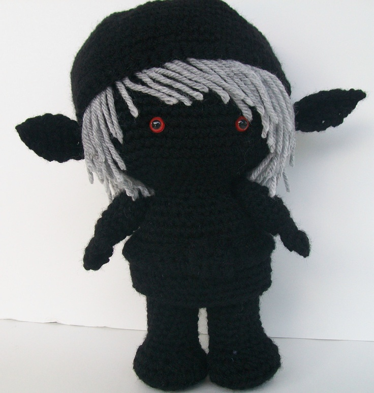 Dark Link Shadow Link Legend of Zelda Crochet Doll. USD47.50 ...