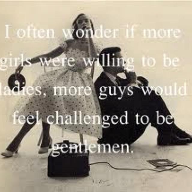 Lady & a Gentleman.. Makes sense
