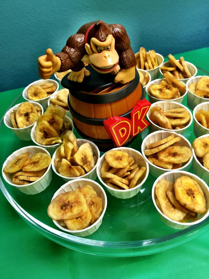 Donkey Kong Birthday Party