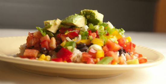 Engine 2 Diet: Black Beans and Brown Rice Extravaganza Recipe via @SparkPeople