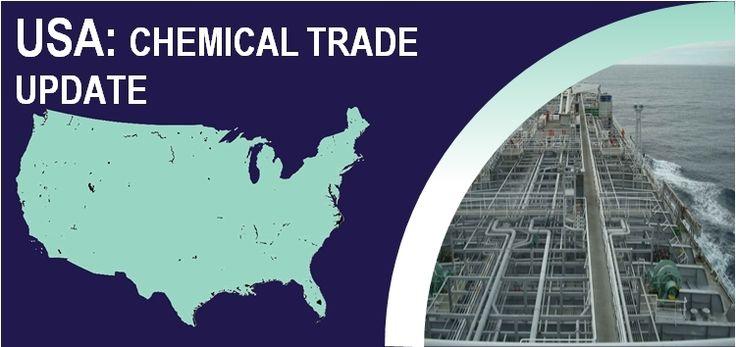 USA bulk liquid commodity chemicals trade update