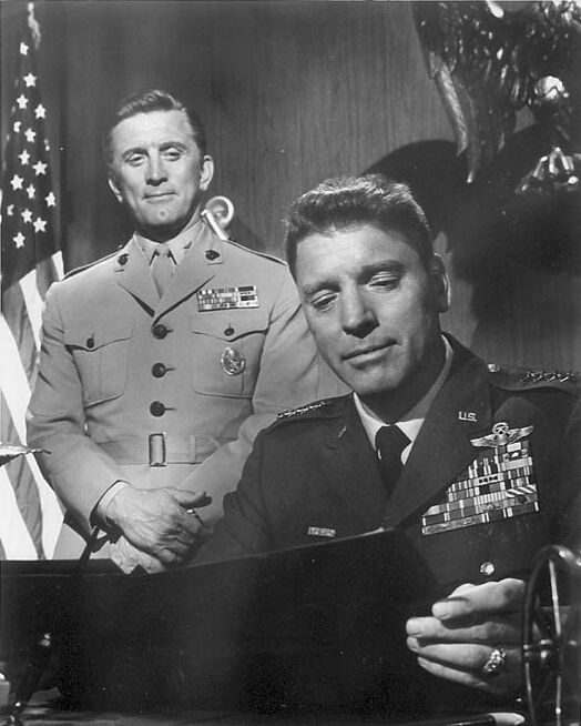 Kirk Douglas and Burt Lancaster -- Seven Days in May
