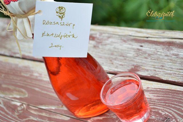 Így készül a rózsaszörp | Életszépítők