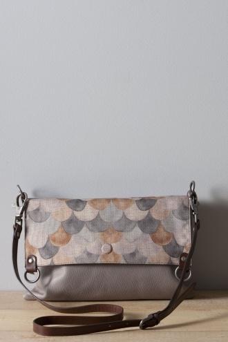Nancy Bird - 5352 Grey Scarf Bag W12-043 I love this!