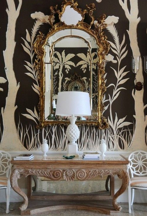 Nice way to update a toile effect in a modern way