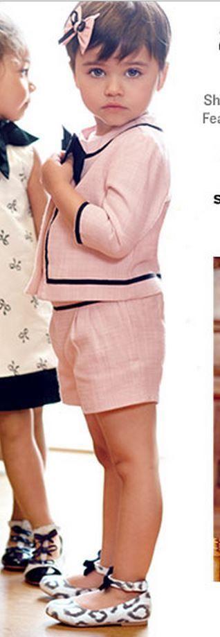 NWT Janie & Jack PARISIAN PARK 12 18 M BOW BOUCLE JACKET SHORTS Set Outfit Pink #JanieAndJack #DressyEverydayHoliday