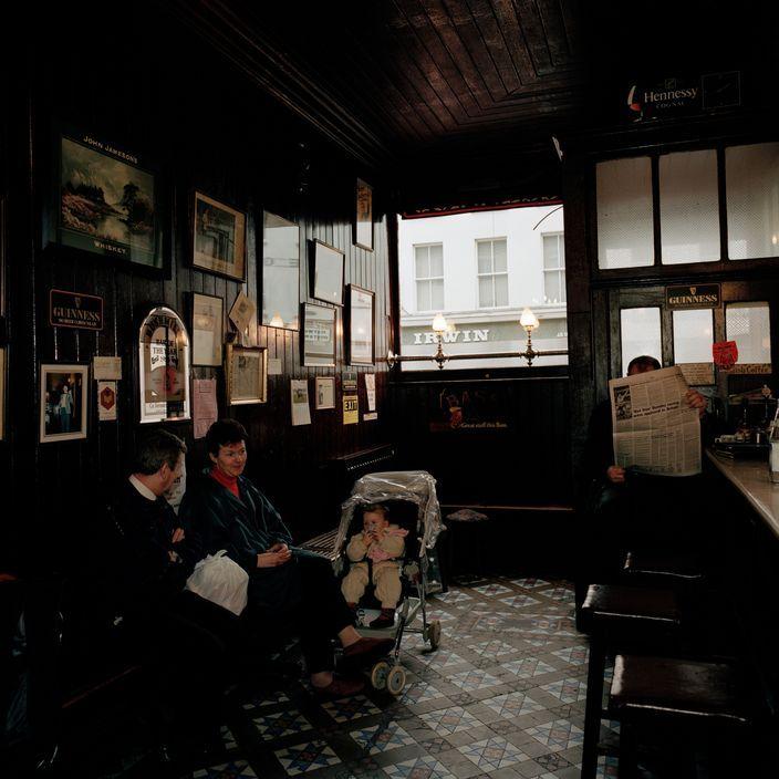 Martin Parr - IRELAND. County Leitrim. Mohill. 1992.