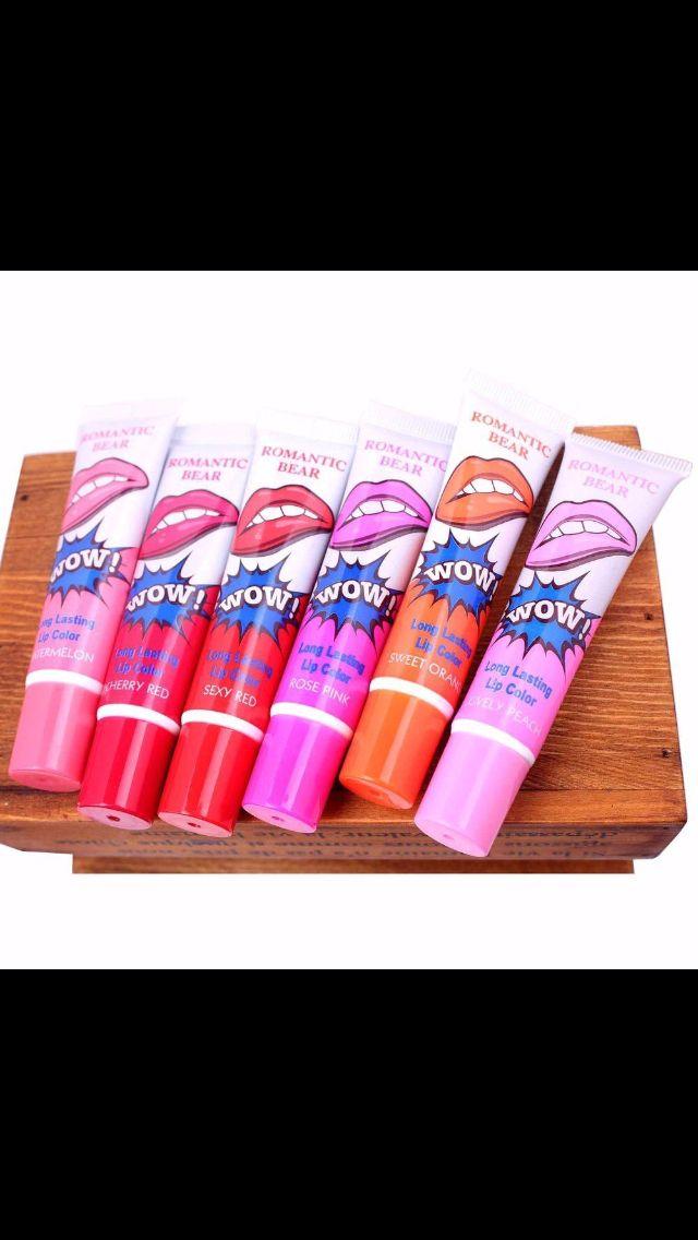 Ya mismooo!!! Vayan a comprar los nuevos labiales de tinta de wow!! Son polémica