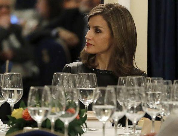 King Felipe and Queen Letizia at 33rd Francisco Cerecedo Award Ceremony