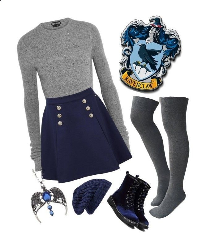 Boots For Dresses Fashion Ravenclaw by closhadow on Polyvore featuring Tom Ford, Tommy Hilfiger and Hinge - He boots are the queens of all the outfits: day, night, casual, formal. They are always invited and is that not only help us keep our feet warm but their variety of designs make it a complement that offers many alternatives depending on our style and the event we will attend
