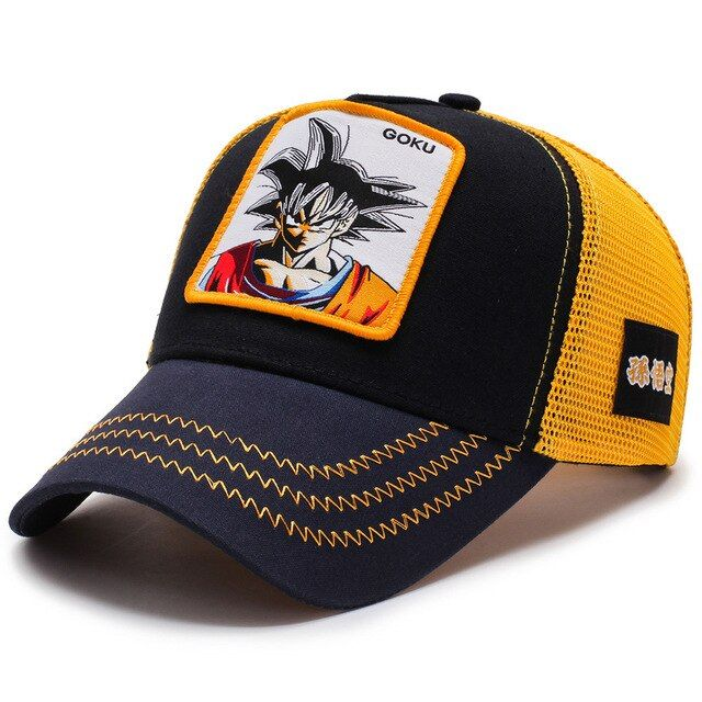 Dragon Ball Z Baseball Cap Son Goku Anime Dragon Ball Unisex Adjustable Dad Hat