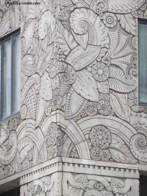 Facade Detail, Chanin Building, NYC