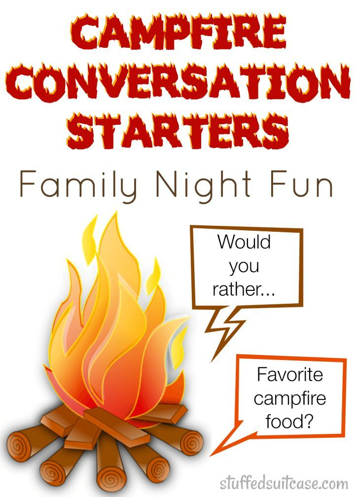 Campfire Conversation Starters for Family Night Fun