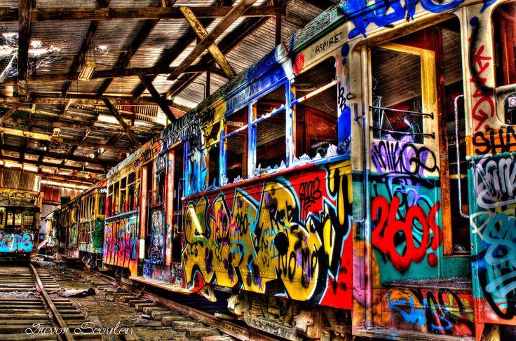 HDR Loftus tram by Trevor S. / 500px