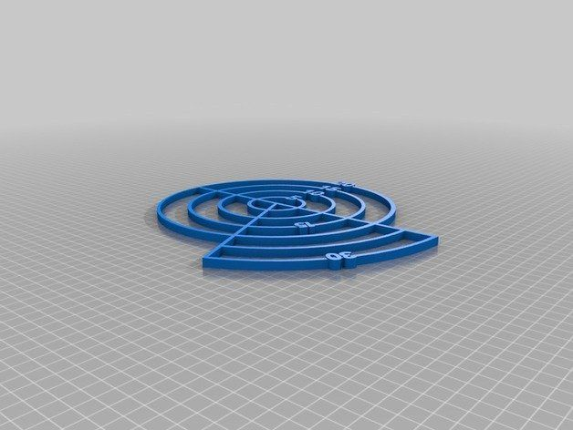Dnd Aoe Spell Template 15 30 Cone And 5 10 15 20 Circle By Mikesaltzman Thingiverse Dnd 10 Things Cone