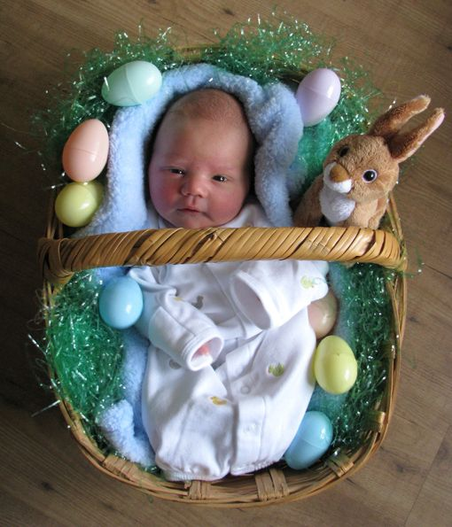Everyday Artist: Sweet Baby Boy | Baby easter pictures ...