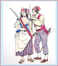 Sans-Culottes and Female Revolutionary, page 8
