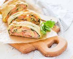 Tourte saumon et épinards (facile, rapide) - Une recette CuisineAZ