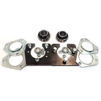 Parts and Accessories 64657: Drift Trike 1 Live Axle Bearing Kit 3 Bolt Go Kart Mini Bike Bearings And Hangers -> BUY IT NOW ONLY: $39.96 on eBay!