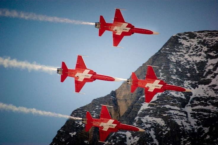 f5E tiger swiss air force patrouille suisse