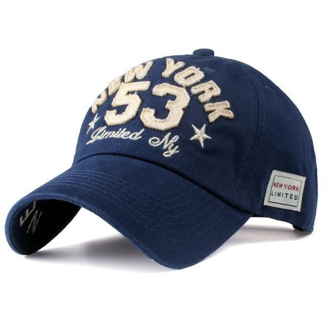 Jeans Caps Cotton Letter Baseball Cap Men Women Snapback Motorcycle Hat Hip Hop