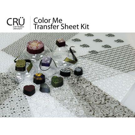 color me transfer sheet kit - Enrob Color