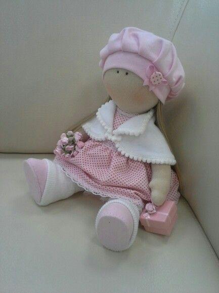 Куколка ручной работы, рост 38 см