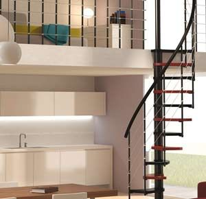 M s de 17 ideas fant sticas sobre escaleras para espacios - Modelos de escaleras de caracol para interiores ...