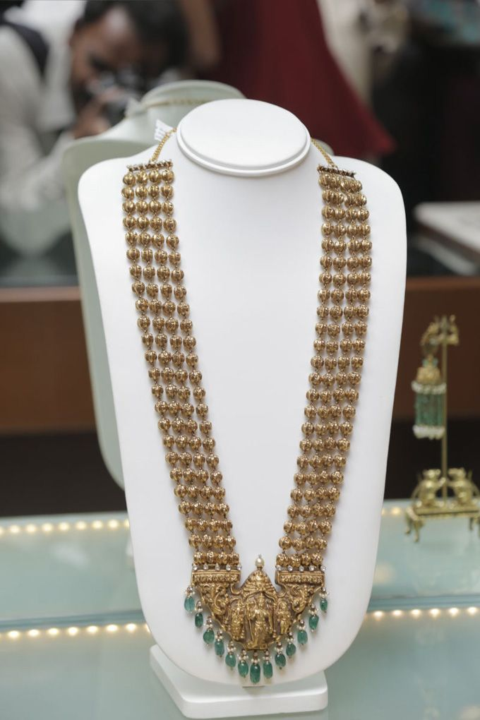 Long temple jewellery necklace