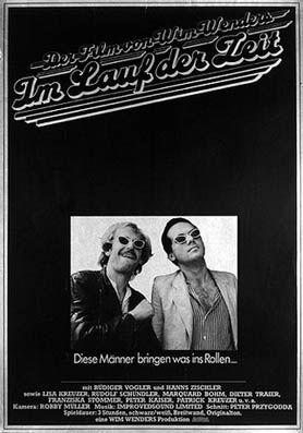 Deutschland 1976 - Regie: Wim Wenders mit: Rüdiger Vogler, Hanns Zischler, Lisa Kreuzer, Marquard Bohm