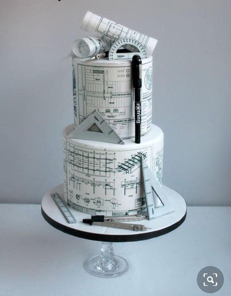 Architecture cake