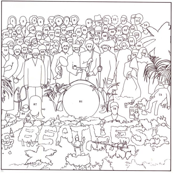 Who's who on Sgt. Peppers Lonely Hearts Club Band  - All 87 of them http://math.mercyhurst.edu/~griff/sgtpepper/people.html