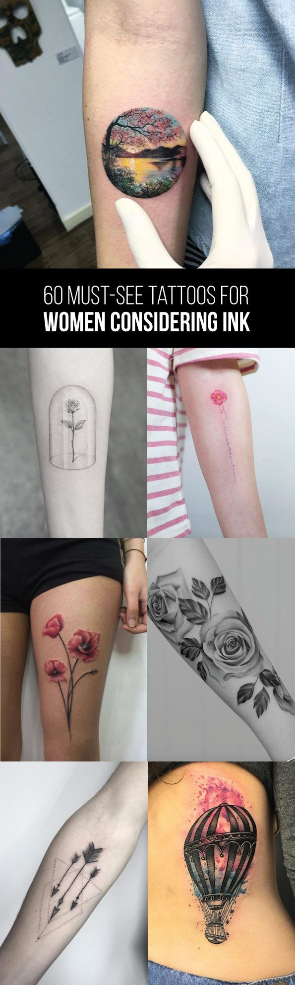 60 Must-See Tattoos for Women Considering Ink