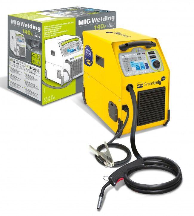 GYS Smartmig 142 Welder 140A 230v 1~