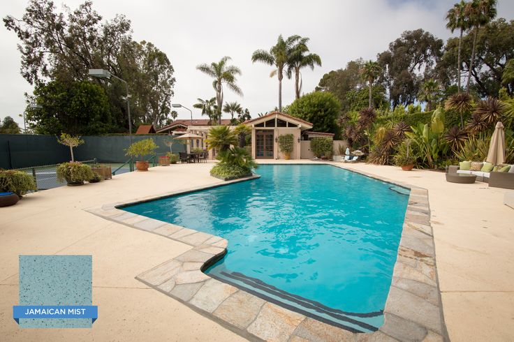 Swim a few laps in this pool finished with the smooth - Clairemont swimming pool san diego ca ...