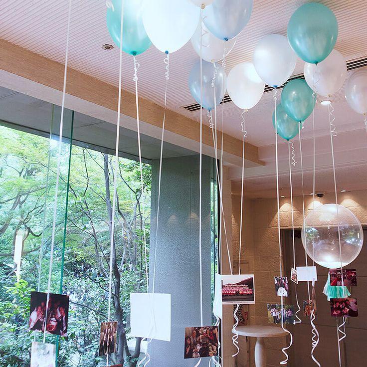 バルーン 装飾 balloon decoration 結婚式 ウェディング 二次会 パーティー 飾りつけ 装飾 wedding party gift 持込み ギフト プレゼント 風船   バルーン電報.com