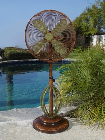 Decorative Electric Fans By Deco Breeze: Floor Standing Fans, Table