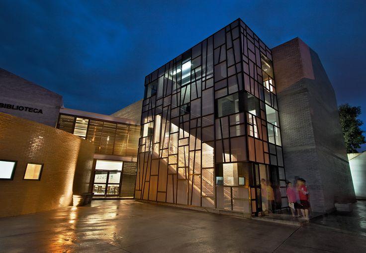 Biblioteca Villa de los niños,Cortesia de Solis Colomer arquitectos