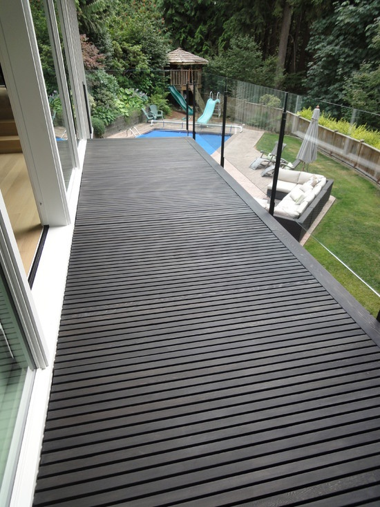 1000 images about deck ideas on pinterest for Painted deck pictures