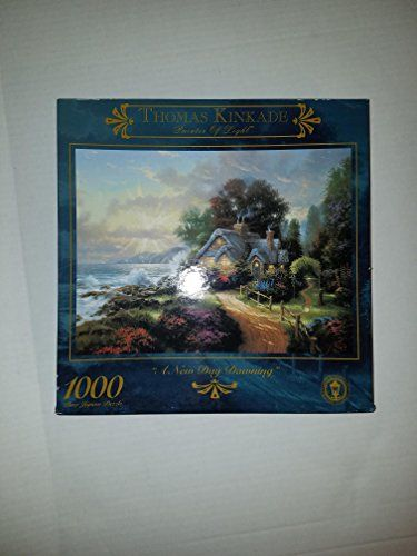 "Thomas Kinkade 1000 Piece Jigsaw Puzzle ""A New Day Dawnin... https://www.amazon.com/dp/B003GRZTJG/ref=cm_sw_r_pi_dp_x_Xwx8xb84ND57B"