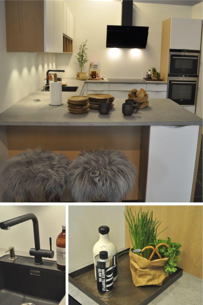 Klassisk køkkenindretning med råt og rustikt look.