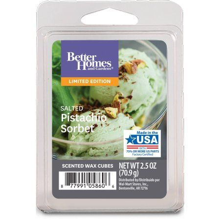 excellent better homes and gardens scented wax cubes. Better Homes and Gardens Salted Pistachio Sorbet Wax Cubes  2017 Limited Edition 183 best Walmart Scented Melts images