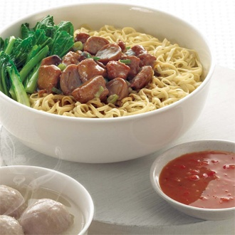 Bakmi Spc GM Bakso, we even bring it all the way to NL sometimes