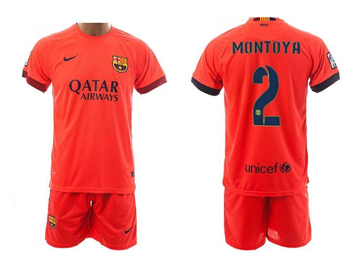 Nike 2014/15 FC Barcelona Extérieur Maillot de foot Pour Homme MONTOYA 2 - 1410173096 - Boutique Chaussures De Football,Maillot De Foot!