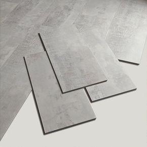 Dalle PVC clipsable gris gotha clear Senso lock + GERFLOR